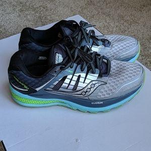 Saucony Triumph ISO 2 Everun Gray sneakers 9 Wide